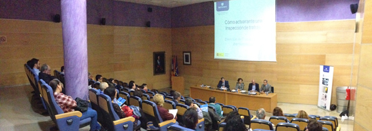 Sesión Informativa de Ibermutuamur: Cómo actuar ante una Inspección de Trabajo.  Herramienta preventiva del INSHT: Prevención 10