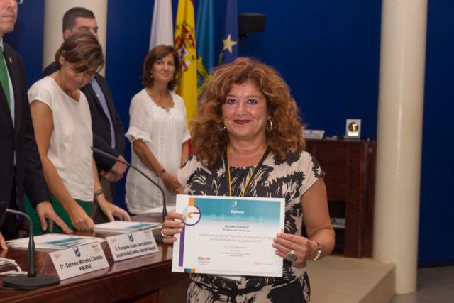 Ibermutuamur recibe un diploma en reconocimiento a su labor en favor de la igualdad en el mundo empresarial