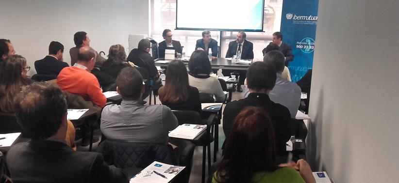 """Sesión informativa de Ibermutuamur: """"Cómo actuar ante una inspección de trabajo"""""""