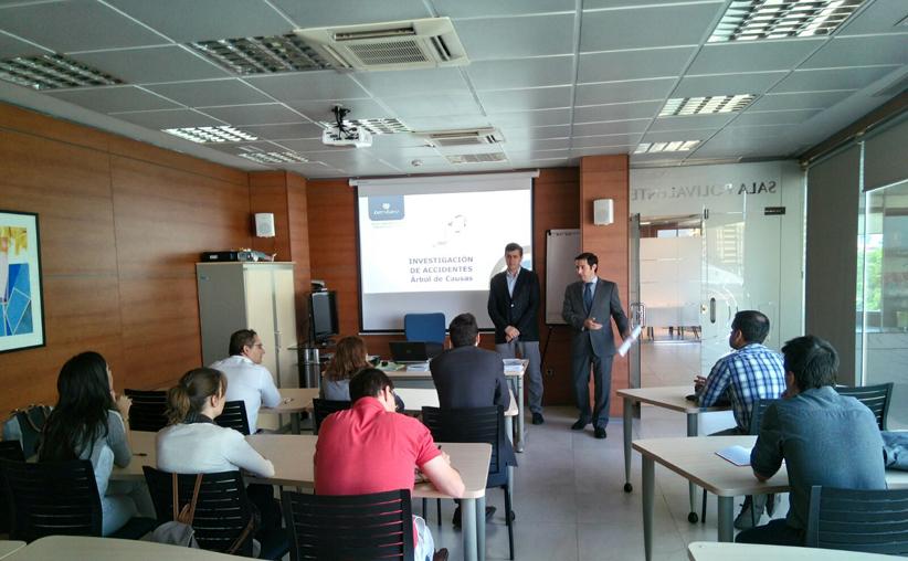 """Sesión informativa de Ibermutuamur """"Investigación de accidentes de trabajo. Método del árbol de causas"""""""