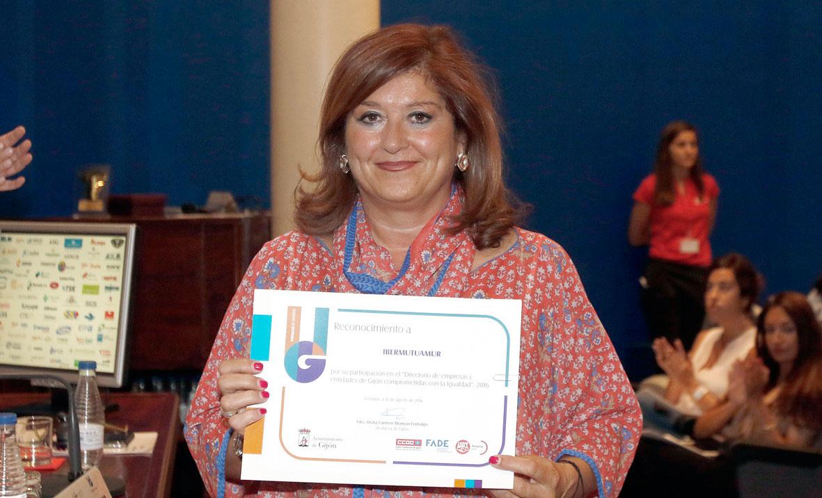 Ibermutuamur es reconocida en Gijón por su laboren favor de la igualdad en el mundo empresarial