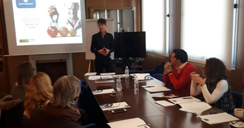 Sesión Informativa de Ibermutuamur: 'Gestión del estrés en el ámbito laboral'