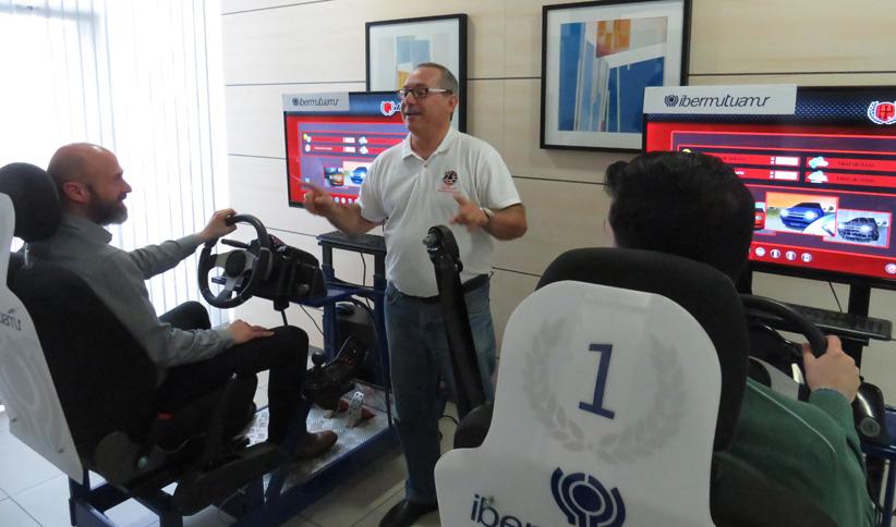 Sesiones de sensibilización contra los accidentes laborales de tráfico