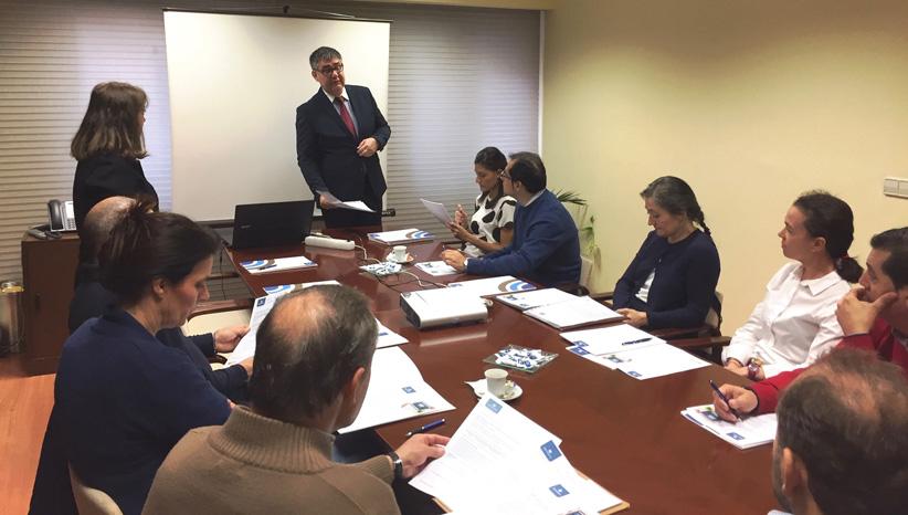 Valladolid analiza la gestión preventiva de los puestos de trabajo por tareas: PROF2