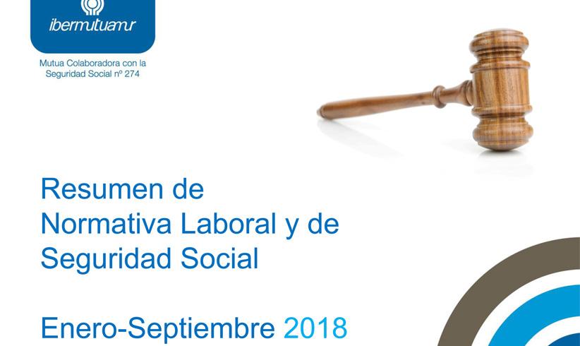 Publicada la Recopilación de la Normativa Laboral y de Seguridad Social de Ibermutuamur
