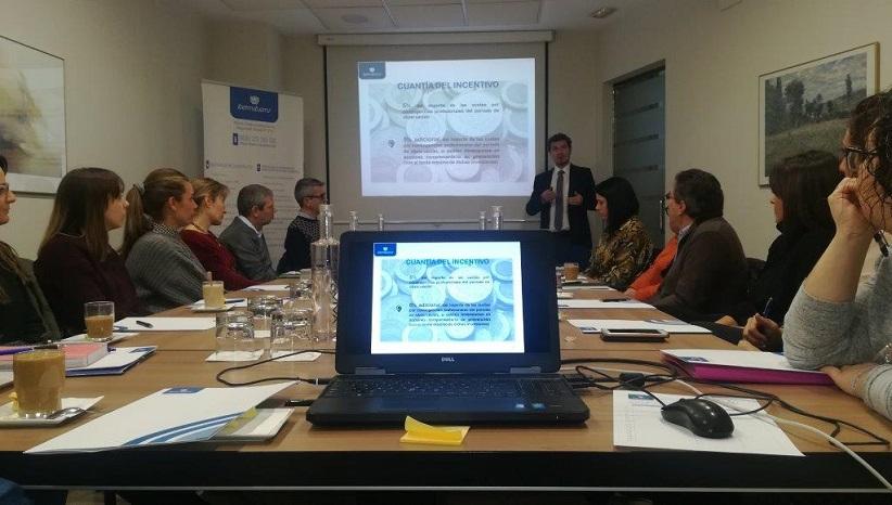 Nueva sesión sobre los incentivos a la disminución de la siniestralidad laboral