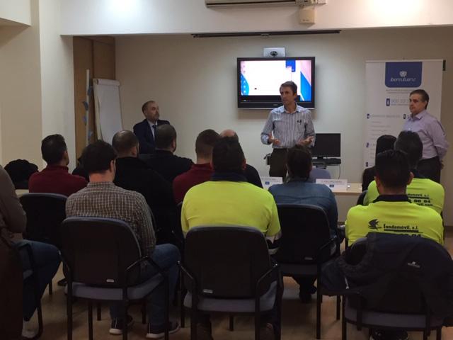 Dinámicas en Arganda (Madrid) para sensibilizar sobre los accidentes laborales de tráfico