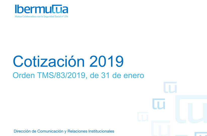 Presentación resumen Orden Cotización 2019