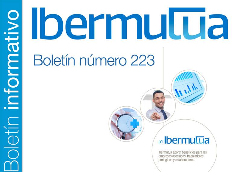 Ya se encuentra disponible el Boletín informativo de Ibermutua nº 223
