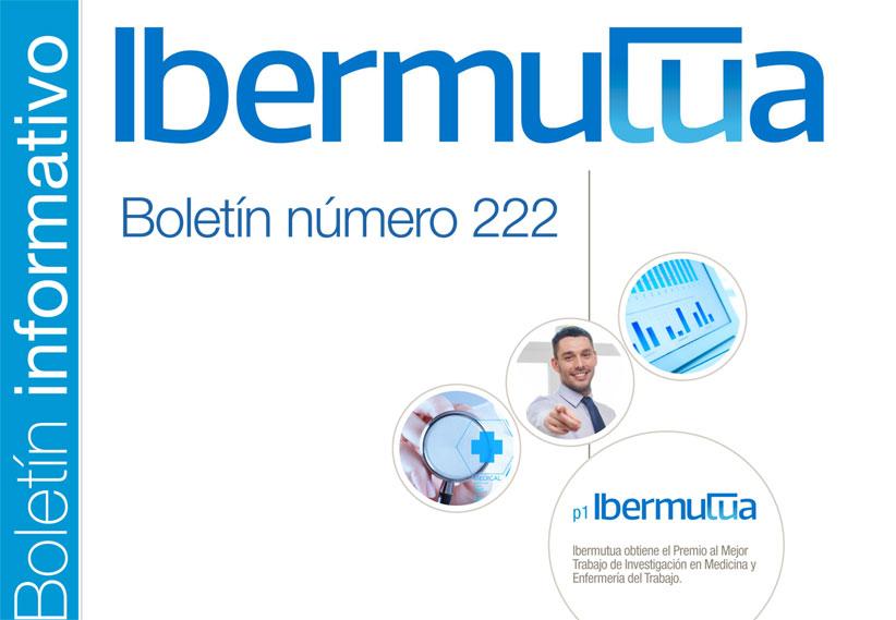 Ya se encuentra disponible el Boletín informativo de Ibermutua nº 222