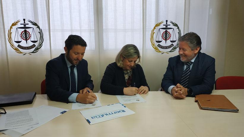 Convenio de colaboración entre Ibermutua y el Colegio Oficial de Graduados Sociales de Huelva