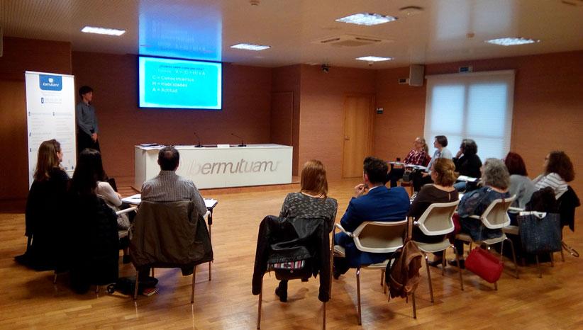 Sesión Informativa de Ibermutua para gestionar el estrés laboral