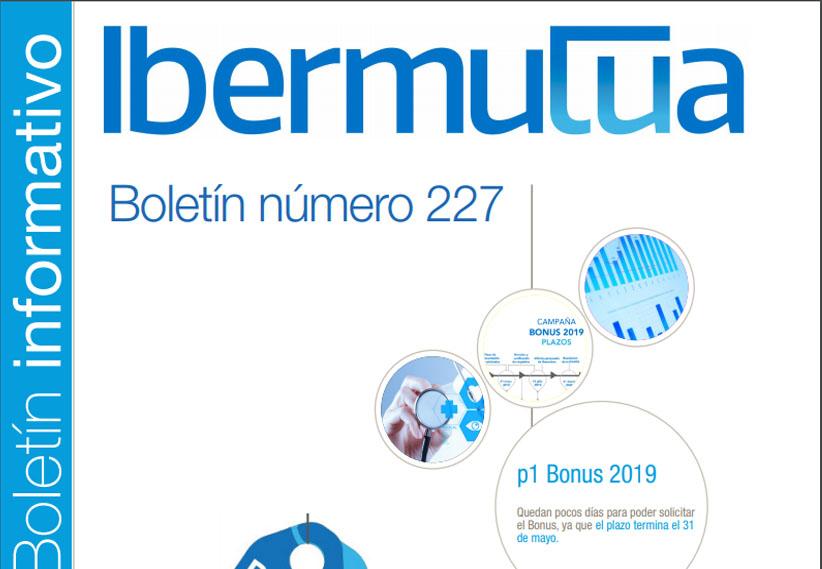 Ya se encuentra disponible el Boletín informativo de Ibermutua nº 227